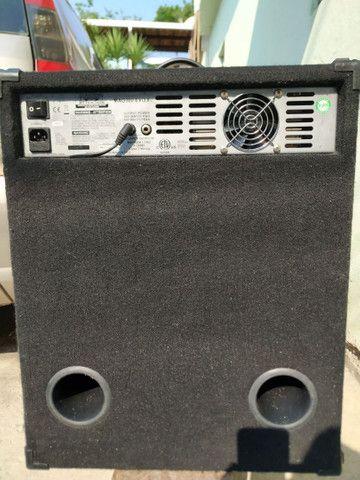 Amplificador Caixa de Baixo Vendo ou troco Mag C115-300 Evo II - Foto 3