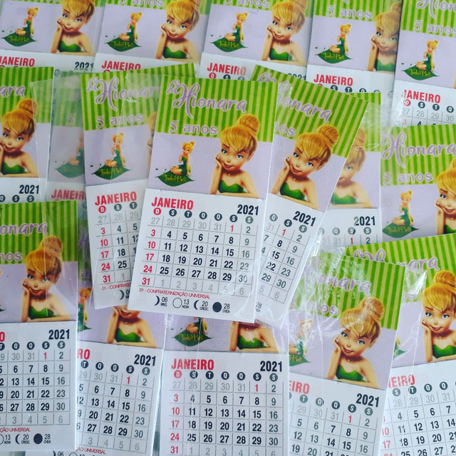 Mini calendario com imã  - Foto 2