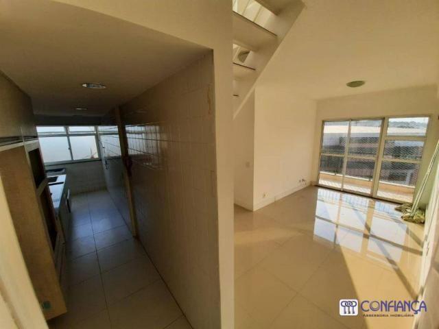 Cobertura com 2 dormitórios para alugar, 147 m² por R$ 2.200,00/mês - Campo Grande - Rio d - Foto 2