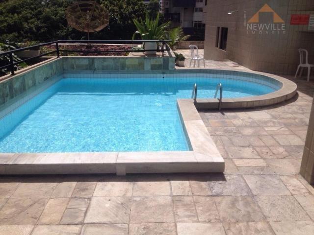 Apartamento com 4 quartos para alugar, 170 m² por R$ 6.000/mês com taxas- Boa Viagem - Rec - Foto 18