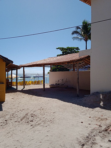 Loja na areia da praia do mutá com espaço extra coberto - Foto 2