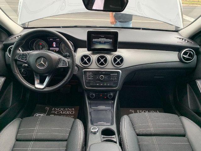Mercedes gla 200 advance 2017 51.000 km todas revisoes feitas e ipva 2021 pago - Foto 9