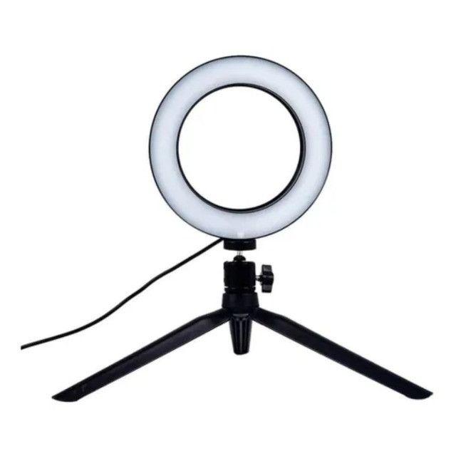 Ring Light Led 6 Polegadas - Foto 5