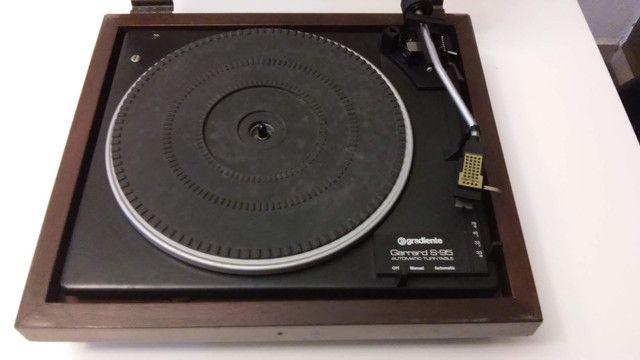 Toca discos Garrard Gradiente - Foto 2
