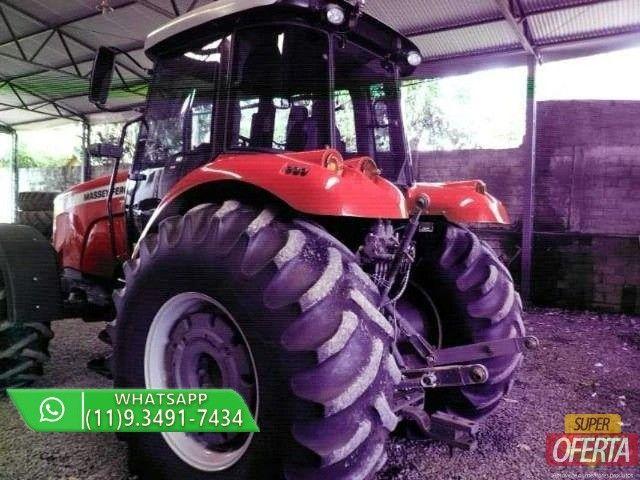 Trator Massey Ferguson 7180 4x4 ano 13 - Foto 3