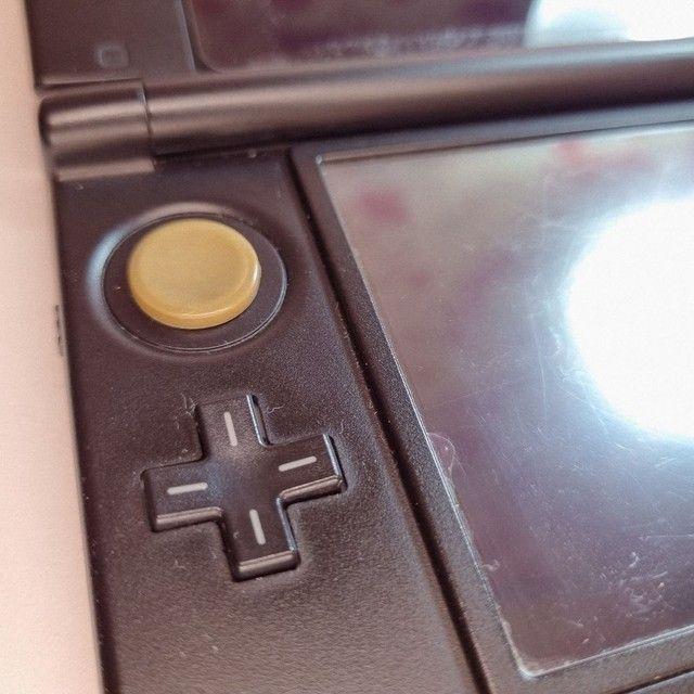 Nintendo 3DS XL + mídia física + 40 mídias digitais - Foto 3