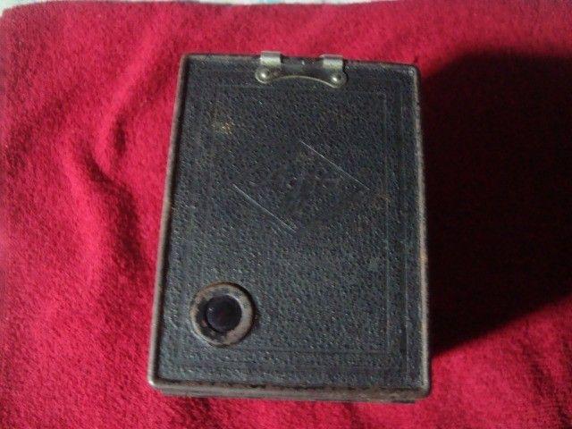 Máquina Fotográfica Antiga Marca Agfa - Rara - Foto 5