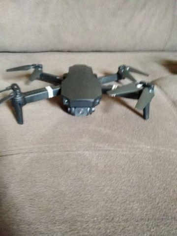 Drone e88 semi novo LEIA A DESCRIÇÃO - Foto 2