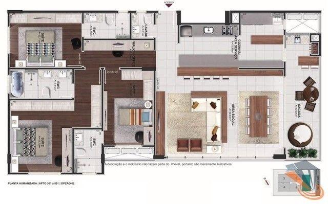 Apartamento com 2 dormitórios à venda, 91 m² por R$ 670.000,00 - Balneário - Florianópolis - Foto 16