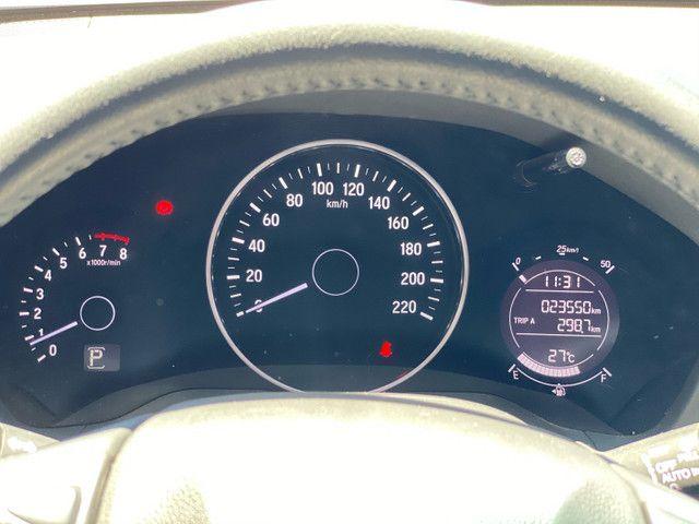 HR-V Touring 2017 - 23.000km - Farol em LED + Bancos em Couro + Multimídia  - Foto 9