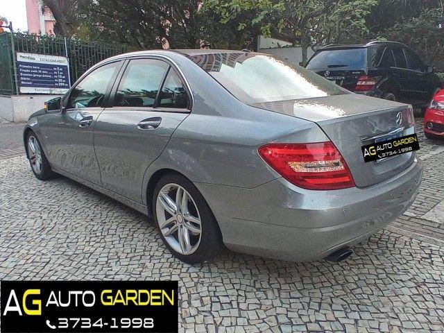 Mercedes Benz c180 2012 cgi(turbo)Blindada n3a+aut/tip+toplinha+couro+absurdamente nova!!! - Foto 6