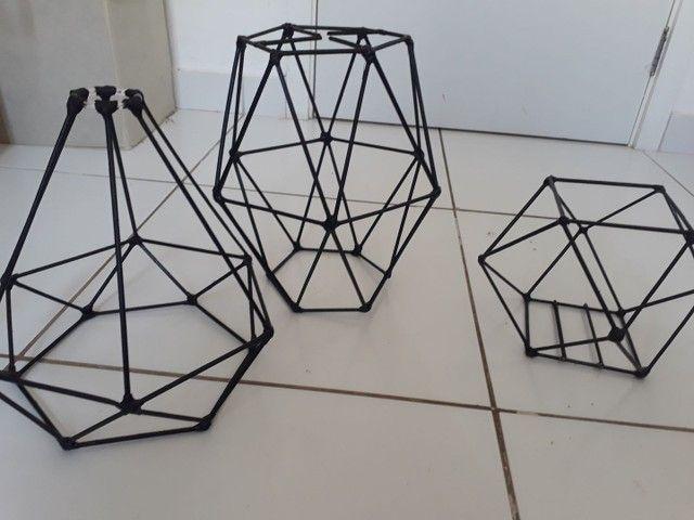 Luminárias  artesanais> - Foto 4