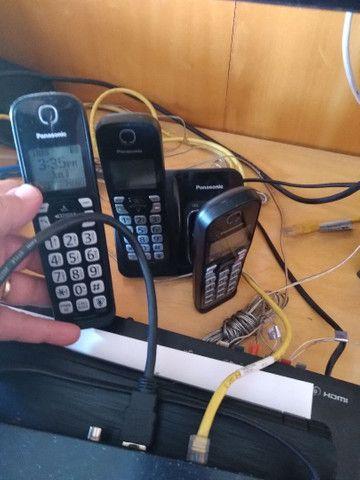 Telefone Secretaria eletrônica Panasonic  - Foto 2