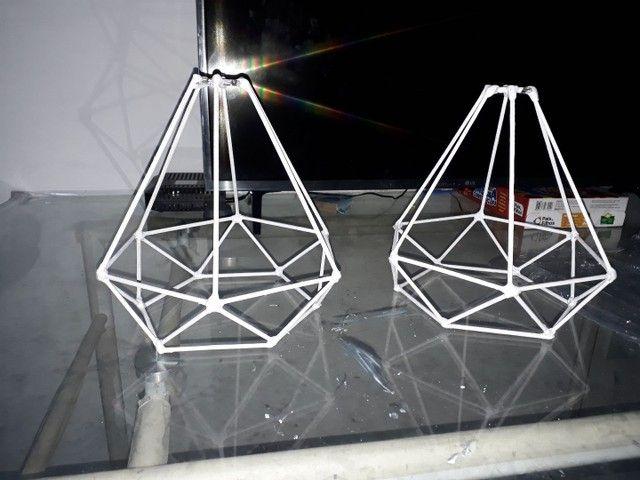 Luminárias  artesanais> - Foto 2