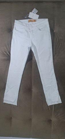 Calça branca Ateen