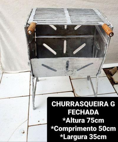 CHURRASQUEIRAS DESMONTÁVEIS  - Foto 5