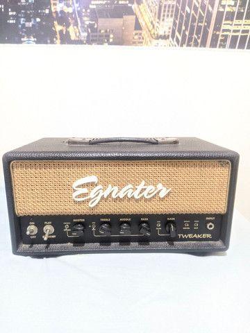 Amplificador Valvulado Egnater Tweaker + caixa 1x12 alto falante Eminence - Foto 2