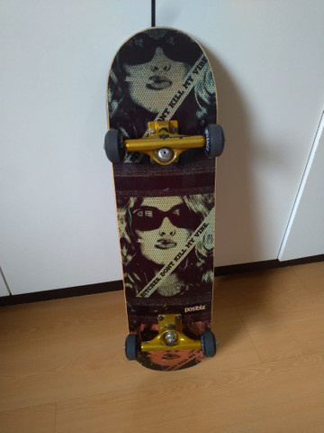 Vendo skate montado pouco usado - Foto 6