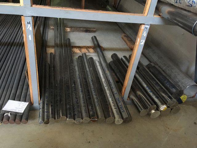 Chapas, barras, tubos de aço inox  - Foto 2