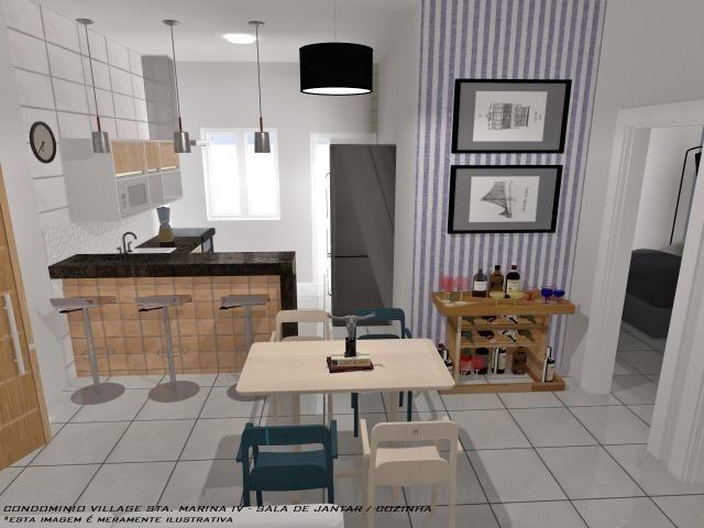 Casa Nova || Pontal Sta Marina Caraguá || 1 Dorm, 1 Suíte || 2 Vagas de Garagem || 195 mil - Foto 8