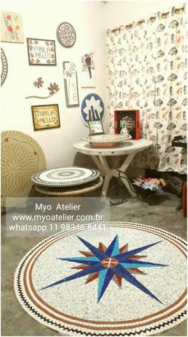 Mandala para Piso mosaico - Foto 2