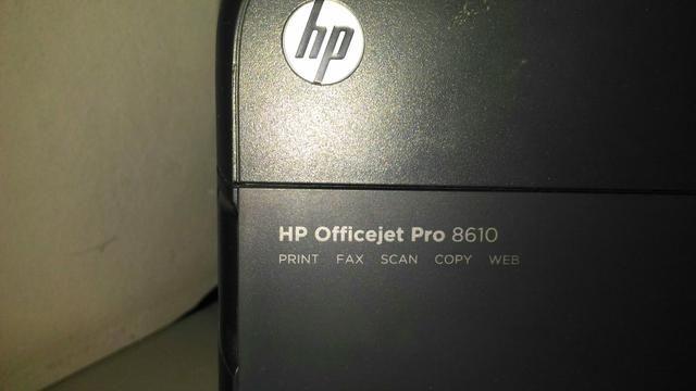 Impressora hp colorida