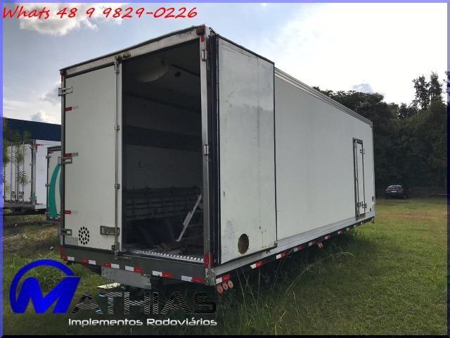 Baú frigorífico caminhão truck Mathias Implementos - Foto 2