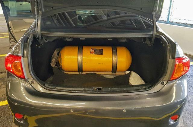 Corolla couro gás doc ok Ac.Moto Carro Parcelo - Foto 9