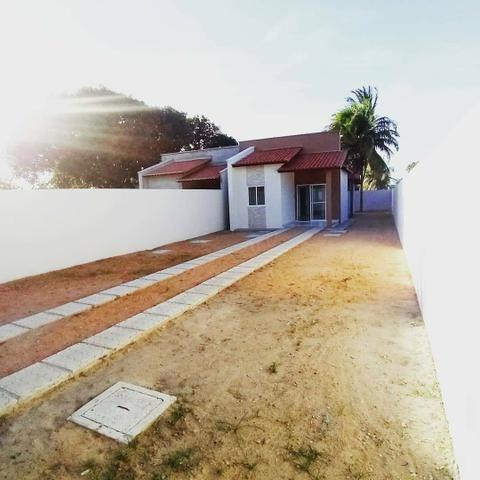 Grande lançamento no Eusébio casas planas 3 quartos - Foto 5