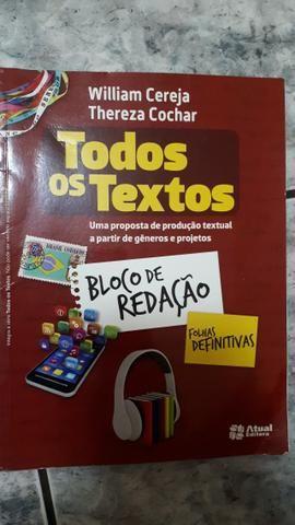 Livro Todos os Textos 6° ano - Foto 3