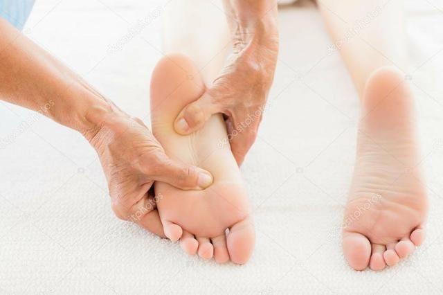 Terapia nos pés