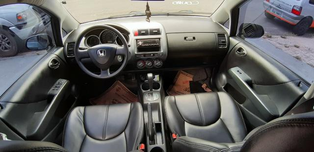 Honda Fit LX 2006 1.4 Automático + Couro - Foto 5