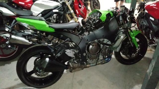 Moto Para Retirada De Peças/sucata Kawasaki Zx10 R Ano 2012 - Foto 4