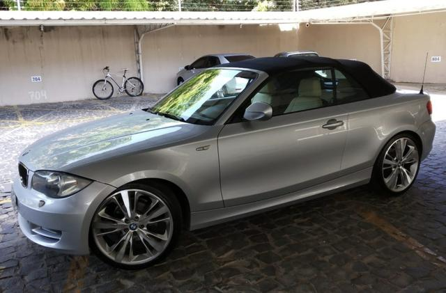 BMW 120i Cabrio Prata 2009/2010 - Foto 2