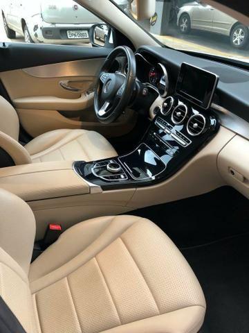 C180 interior Caramelo Carro Extra, Entrada 28.000+ 60x Aceito carro Carta Contemplada - Foto 7