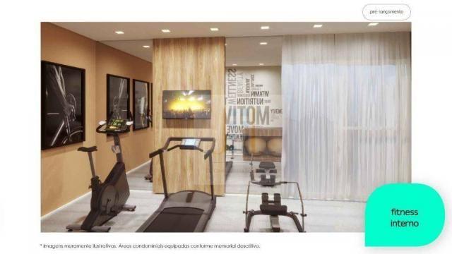Apartamento com 2 dormitórios à venda, 48 m² - Cidade Industrial - Curitiba/PR - Foto 4