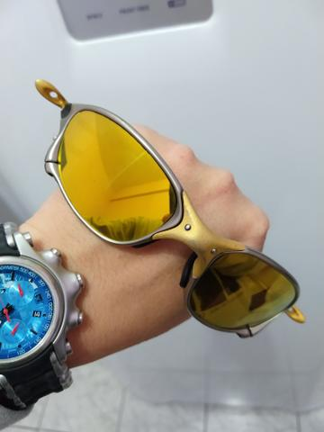 4e9ab7855886b Óculos Oakley Double x 24 k - Bijouterias, relógios e acessórios ...