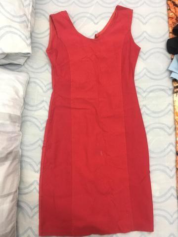 6b25fc7f5 Vestido vermelho com zíper atrás - Roupas e calçados - Taquara, Rio ...