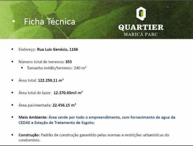 Quartier Maricá Park-sua oportunidade em Marica ótima localização , financiamento direto - Foto 16