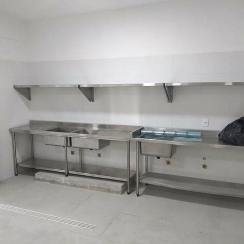 Cozinha Industrial Fabricação Própria Equipafacil - Dino Garcia 47- *