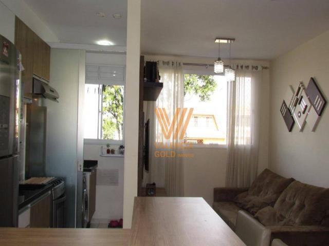 Apartamento com 3 dormitórios à venda, 64 m² por R$ 315.000,00 - Cajuru - Curitiba/PR - Foto 10
