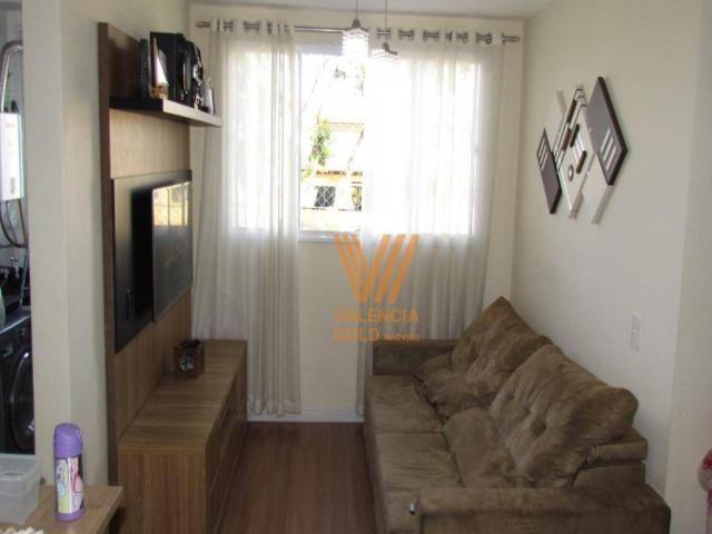 Apartamento com 3 dormitórios à venda, 64 m² por R$ 315.000,00 - Cajuru - Curitiba/PR - Foto 3