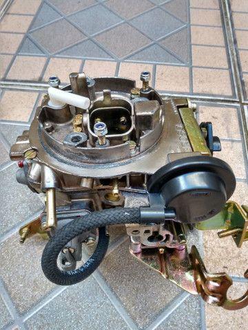 Carburador 2E brosol Álcool zerado com mufla