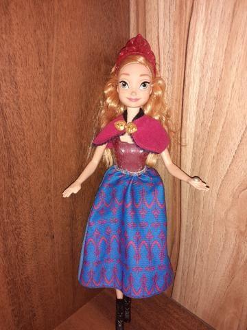 2 Bonecas Frozen Ana e Elsa Musical e luzes - Foto 5