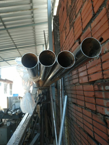 Vendo tubo inox2 polegadas 250 cada  - Foto 3