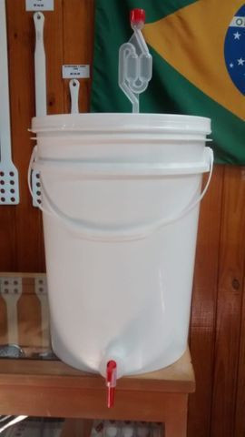 Balde Fermentador Maturador 22L para Cerveja Artesanal - More Hops! Brew Shop - Foto 2