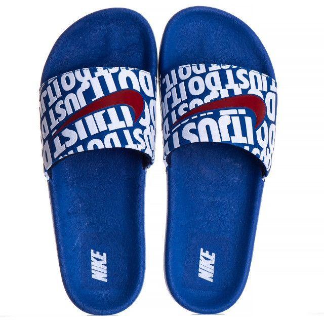 Sandália slide Kawa just do it - Foto 6