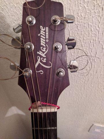 Vendo violão Takamine G series. Parcelo no cartão