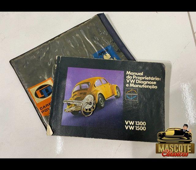 Fusca 1300 1974 *impecável*raridade*financio direto - Foto 6