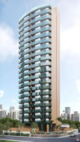 Apartamento à venda com 3 dormitórios em Aldeota, Fortaleza cod:RL453